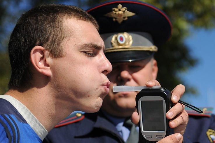 Принцип работы алкотестера