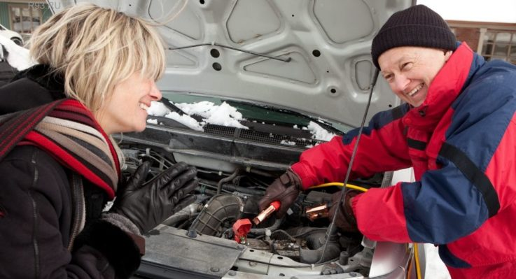 Особенности запуска автомобиля с АКП в мороз