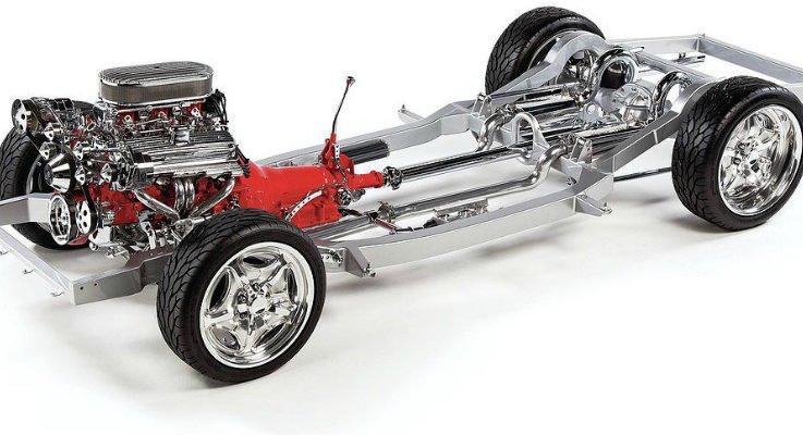 Шасси легкового автомобиля