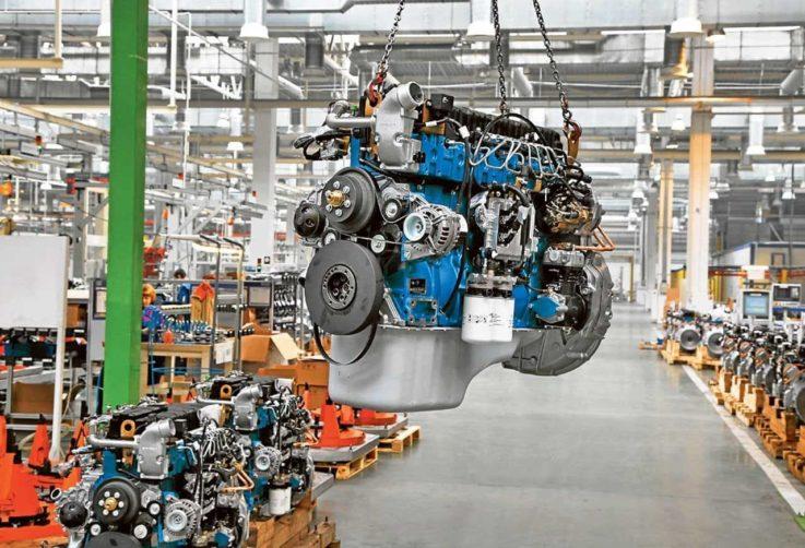 Дизельный мотор автомобиля