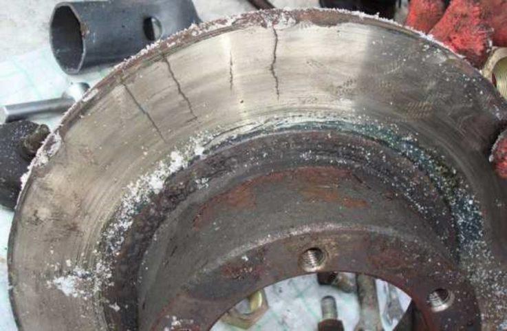 Износ тормозных дисков