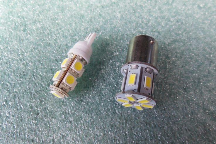 Выбор габаритных ламп