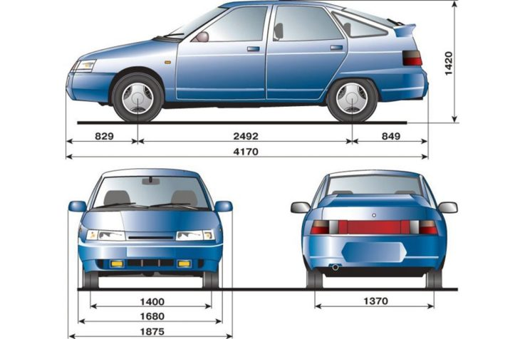Особенности кузова ВАЗ 2112