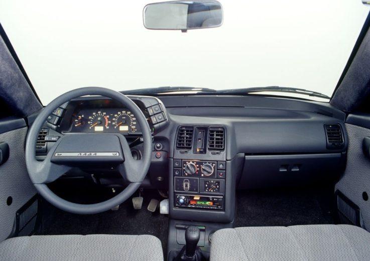 Салон машины ВАЗ 2112
