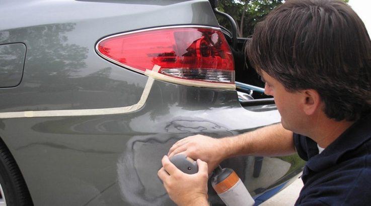 Ремонт бампера на автомобиле
