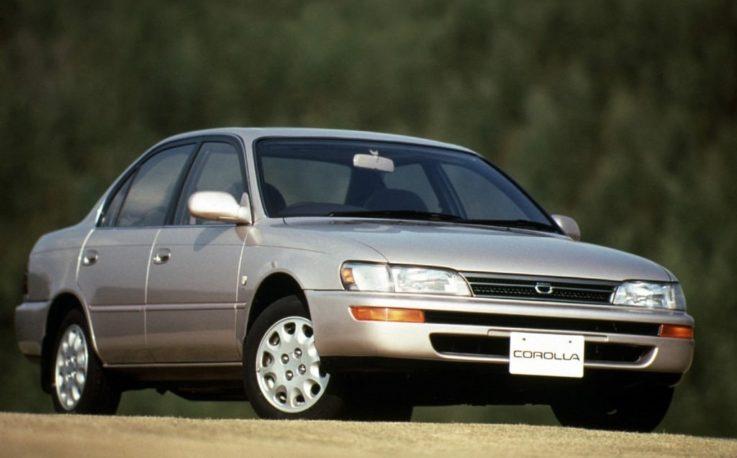 Седьмое поколение Тойота Королла