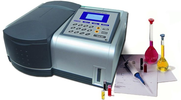 Подбор краски с помощью спектрофотометра