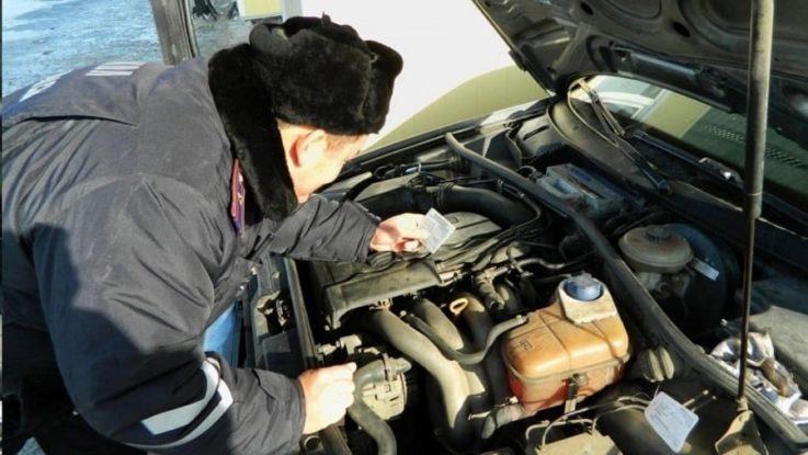 Проверка номера двигателя и кузова