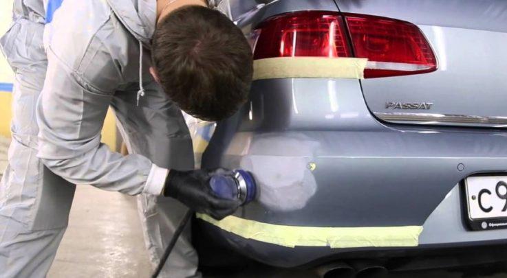 Локальная покраска автомобилей своими руками