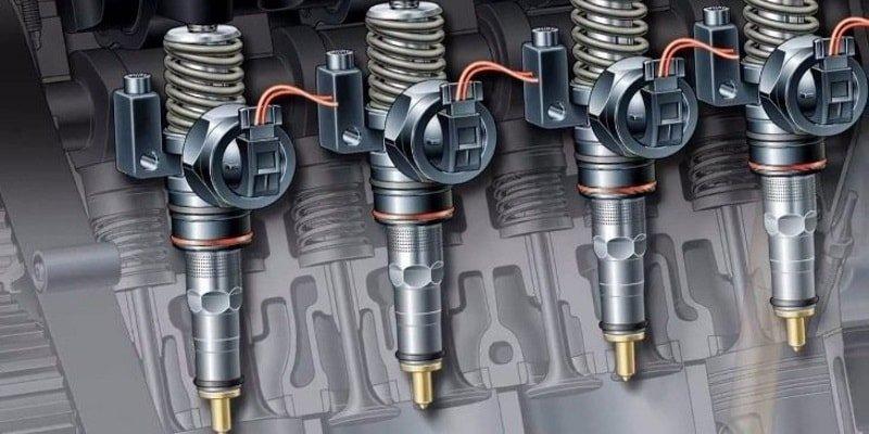 Топливные форсунки бензинового и дизельного двигателя