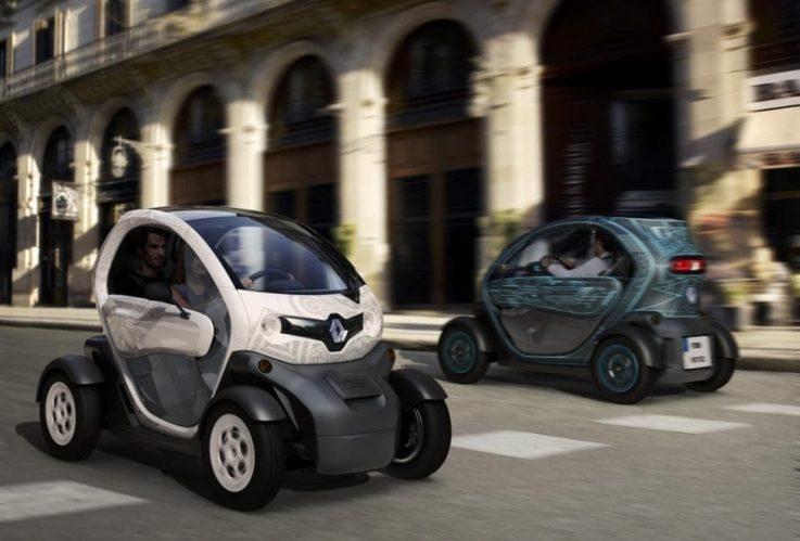 Автомобили с электрическим двигателем