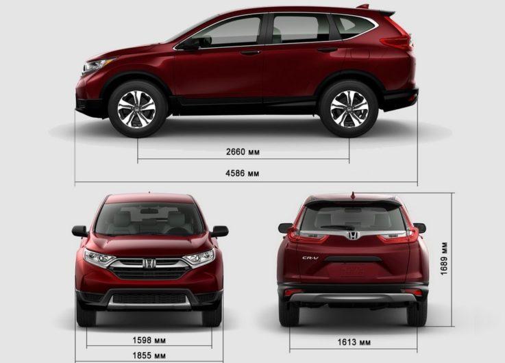 Кузов и габариты Honda CR-V