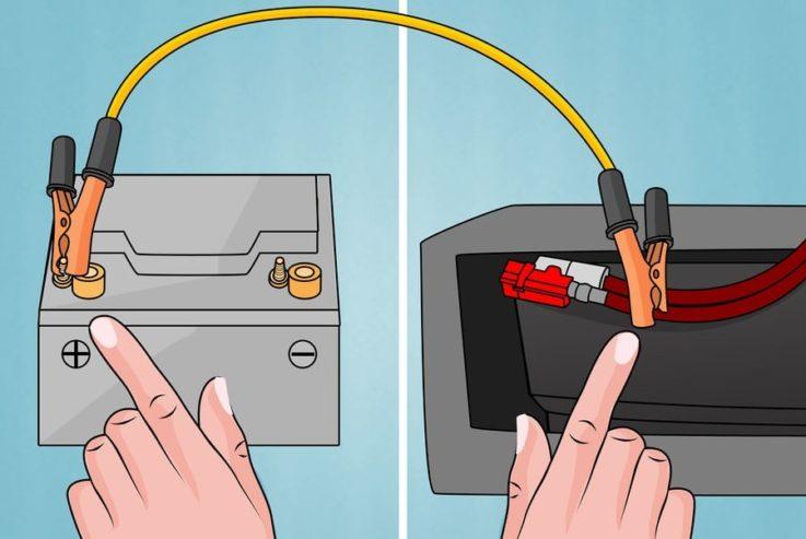 Подача электропитания на щиток