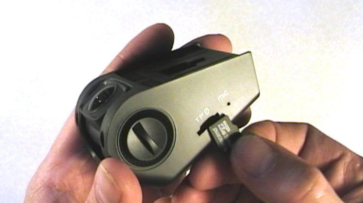Карта памяти автомобильного видеорегистратора