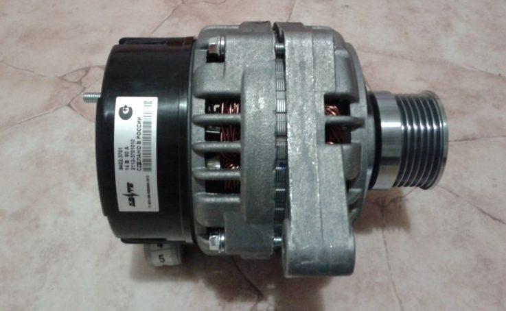 Снять генератор на ВАЗ 2114