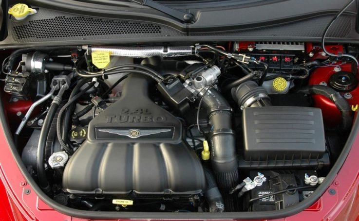 Двигатель турбо Крайслер ПТ