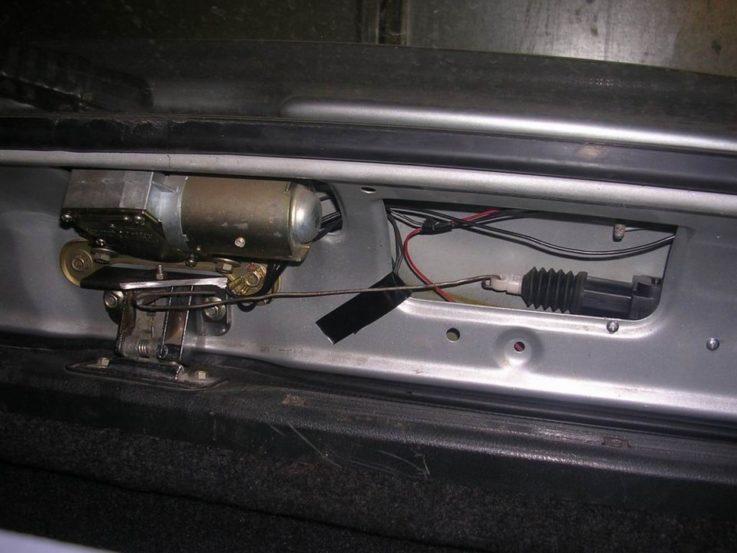 Дистанционное управление багажником
