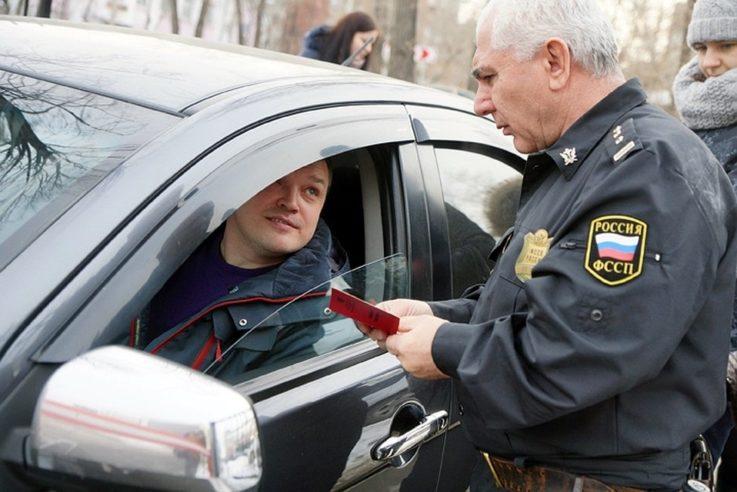 Управление авто под арестом