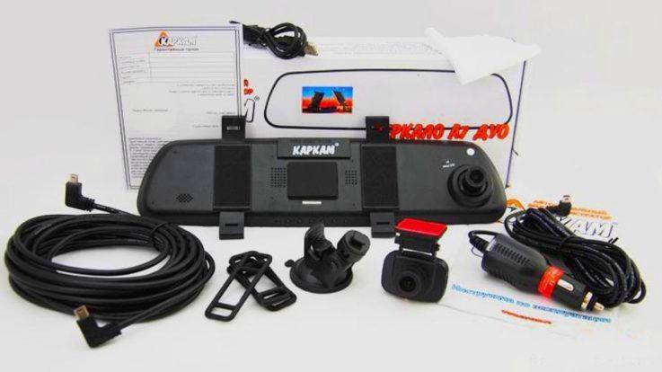 Комплектация Carcam A7