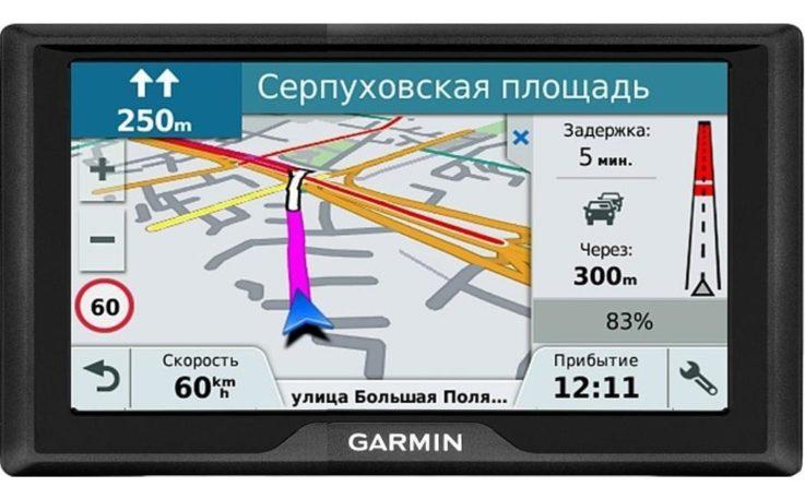 Монитор Garmin Drive 61 RUS LMT