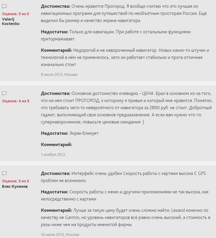 Отзывы LEXAND SA5
