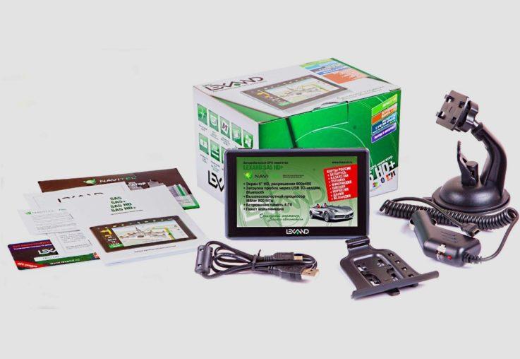 Комплектация LEXAND SA5 HD+