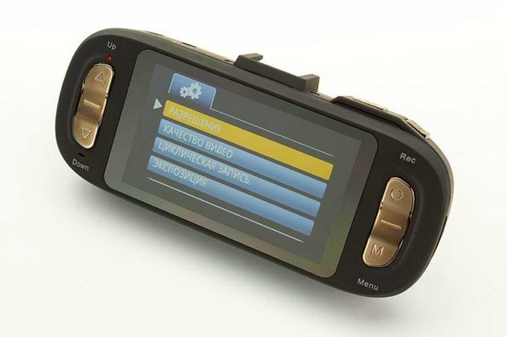 Монитор AdvoCam FD8 Red-II GPS ГЛОНАСС