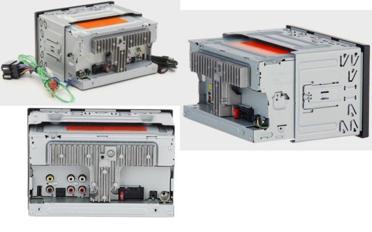 Разъемы Pioneer MVH-AV190