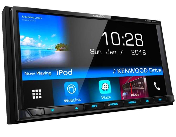 Автомагнитола KENWOOD DMX-6018BT