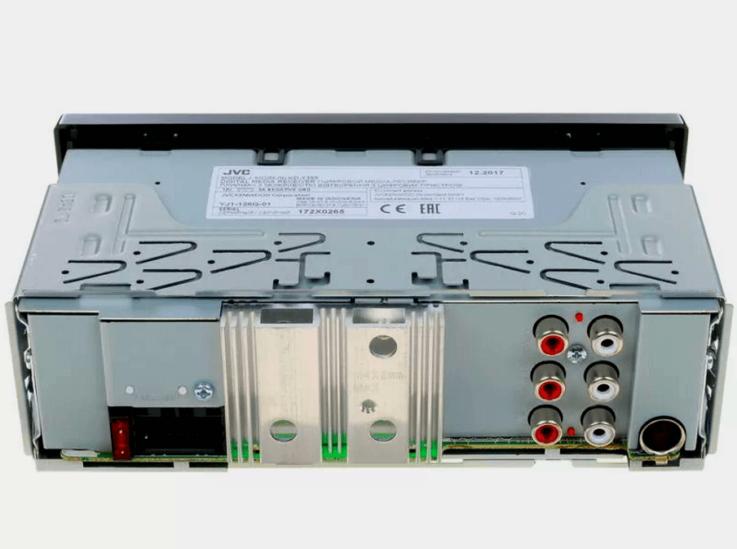 Разъемы JVC KD-X355