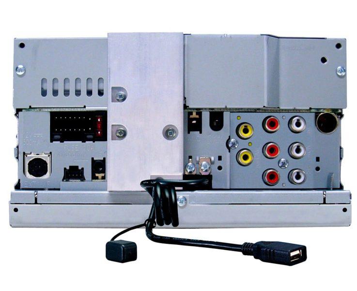 Разъемы JVC KW-V420BT