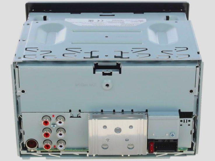 Разъемы JVC KW-X730