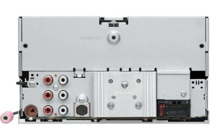 Разъемы JVC KW-X830BT