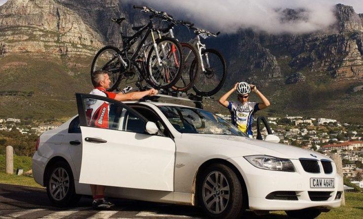 Крепление для велосипеда на крыше авто