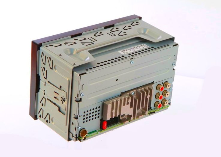 Разъемы Pioneer MVH-S610BT