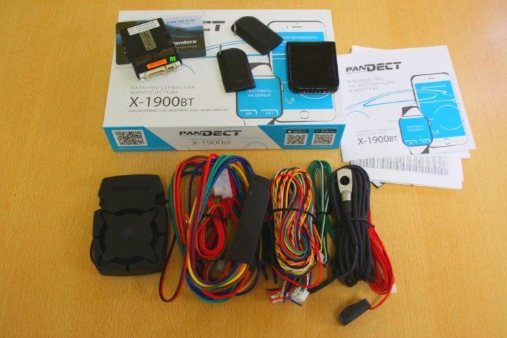 Комплектация Pandect X-1900 BT 3G