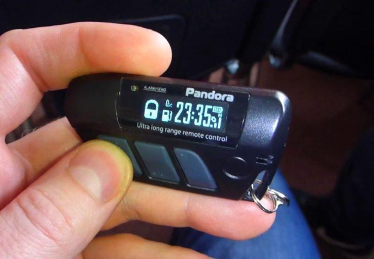 Брелок Pandora DXL 4970