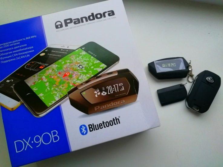 Сигнализация Pandora DX-90 B