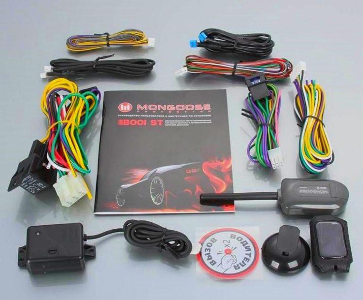 Комплектация Mongoose B001