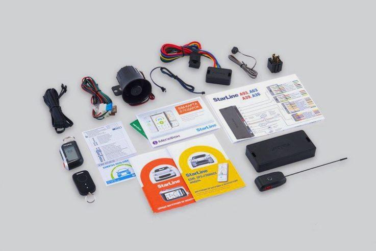 Комплектация Cтарлайн GSM