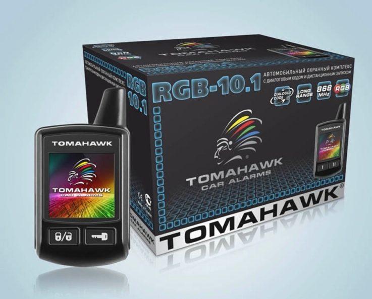 Сигнализация TOMAHAWK 10.1
