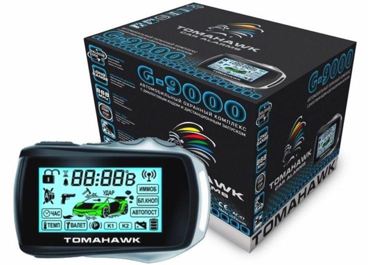 Сигнализация TOMAHAWK G-9000