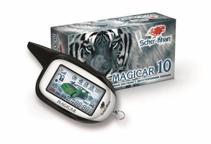 Сигнализация Scher-Khan Magicar 10