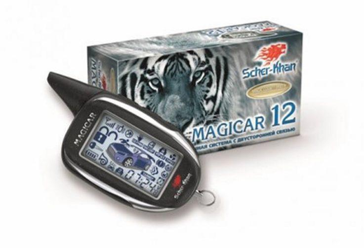 Сигнализация Scher-Khan Magicar 12