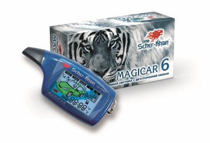 Сигнализация Scher-Khan Magicar 6