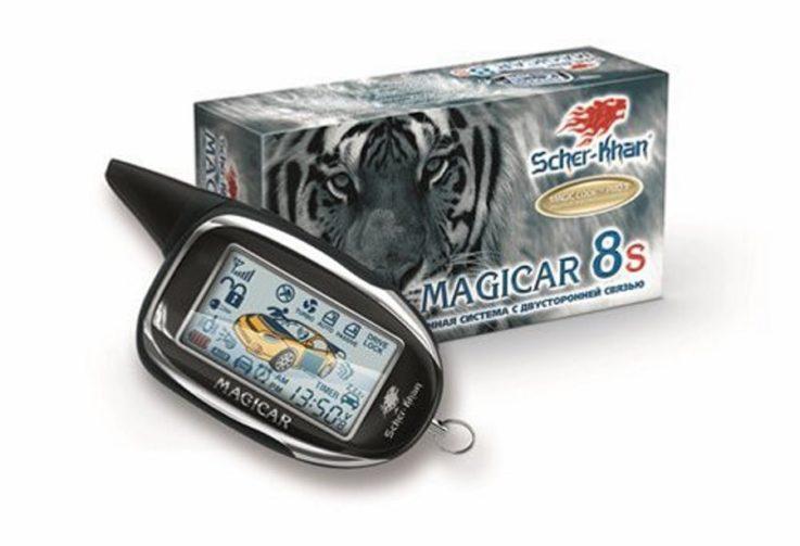 Сигнализация Scher-Khan Magicar 8S