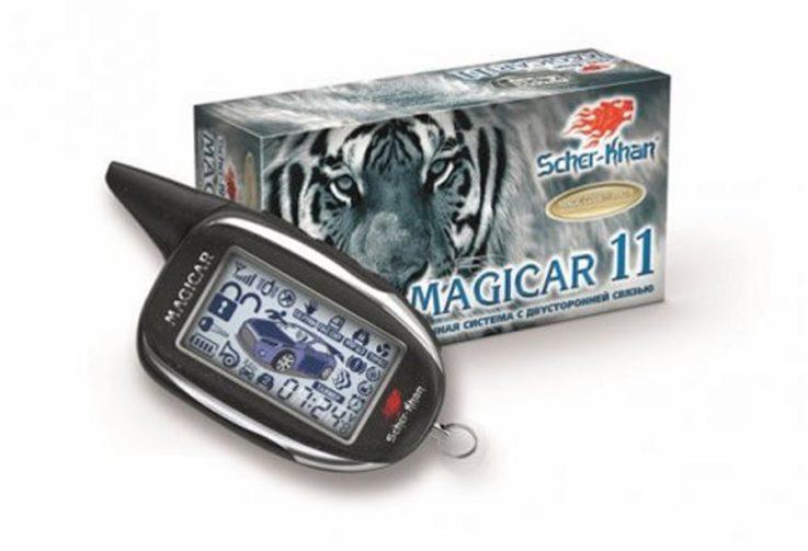 Сигнализация Scher-Khan Magicar 9
