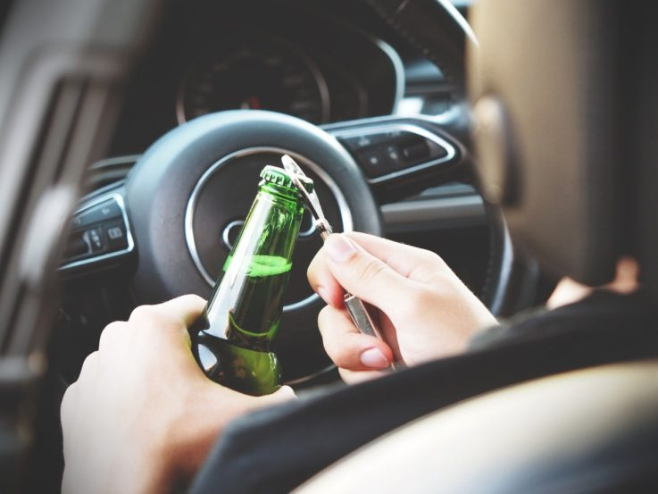 Можно ли пить в машине на стоянке?