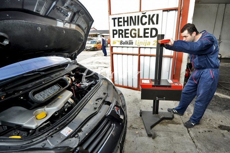Технический осмотр авто