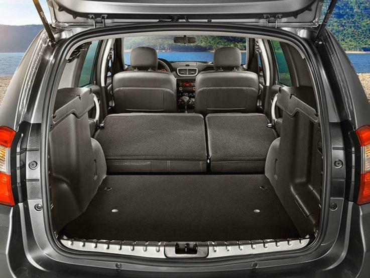 Багажное отделение Nissan Terrano